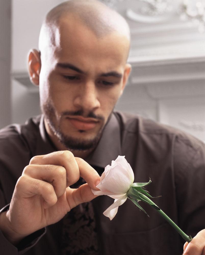 花儿与少年 男人也喜欢鲜花